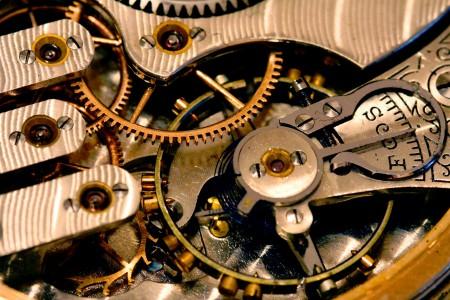 Pocket Watch Gears Jigsaw Puzzle