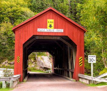 Point Wolfe Bridge Jigsaw Puzzle