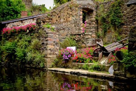 Pontrieux Garden Jigsaw Puzzle