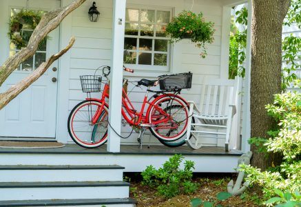 Porch Bicycles Jigsaw Puzzle