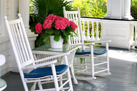 Porch Rocking Chairs Jigsaw Puzzle