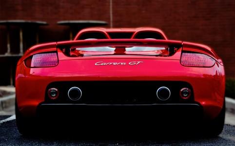 Porsche Carrera GT Jigsaw Puzzle
