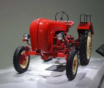 Porsche Farm Tractor Jigsaw Puzzle
