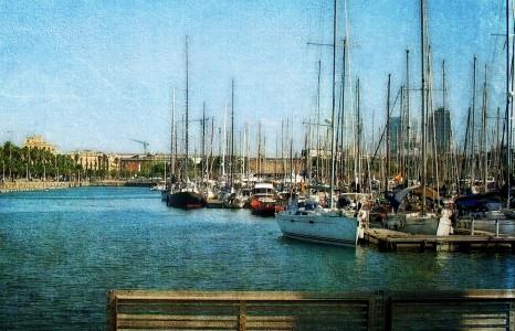 Port Barcelona Jigsaw Puzzle