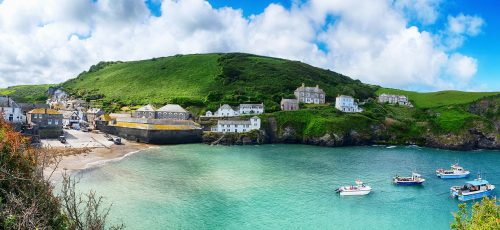 Port Isaac Harbor Jigsaw Puzzle