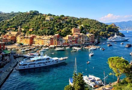 Portofino Boats Jigsaw Puzzle
