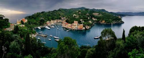 Portofino Panorama Jigsaw Puzzle