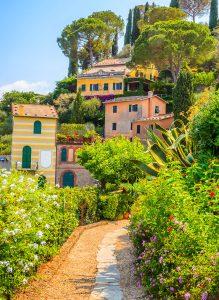 Portofino Path Jigsaw Puzzle