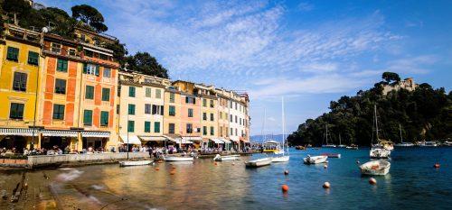 Portofino Waterfront Jigsaw Puzzle