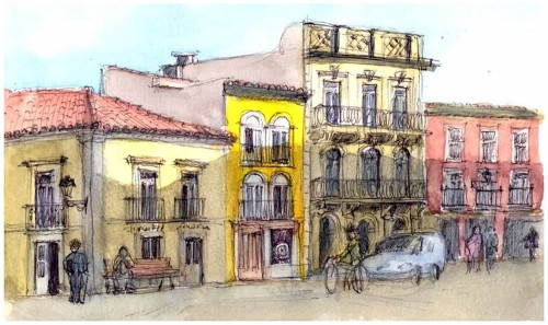 Portugese Street Jigsaw Puzzle