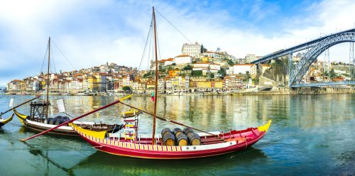 Portuguese Boats Jigsaw Puzzle