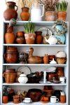 Pottery Shelves