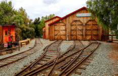 Poway Train Shed
