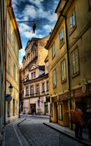 Prague Street Jigsaw Puzzle