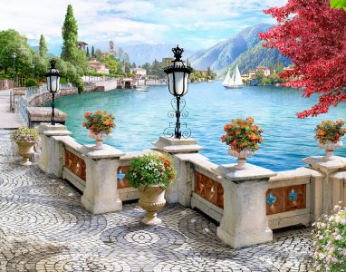 Promenade Overlook Jigsaw Puzzle