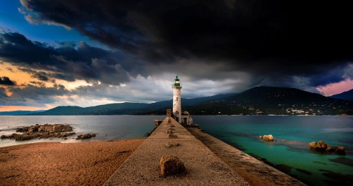 Propriano Lighthouse Jigsaw Puzzle