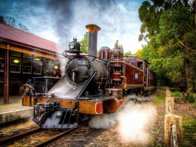 Puffing Billy Railway Jigsaw Puzzle