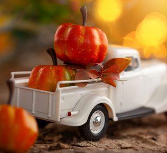Pumpkin Truck Jigsaw Puzzle