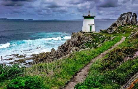 Punta Couso Lighthouse Jigsaw Puzzle