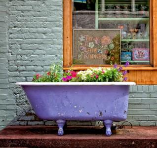 Purple Tub Jigsaw Puzzle