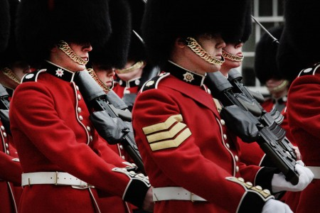 Queen's Guards Jigsaw Puzzle