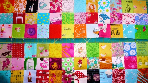 Quilt Patches Jigsaw Puzzle