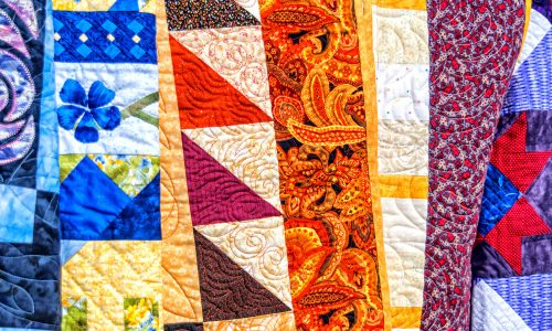 Quilt Patterns Jigsaw Puzzle