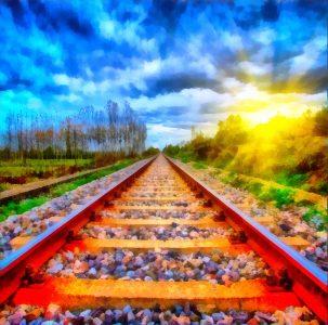 Rail Line Jigsaw Puzzle