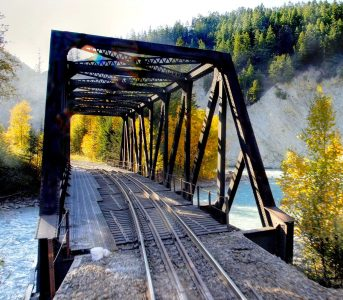 Railroad Bridge Jigsaw Puzzle