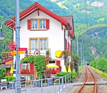 Railway Restaurant Jigsaw Puzzle