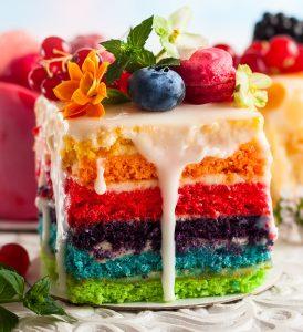 Rainbow Cake Jigsaw Puzzle