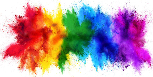 Rainbow Explosion Jigsaw Puzzle