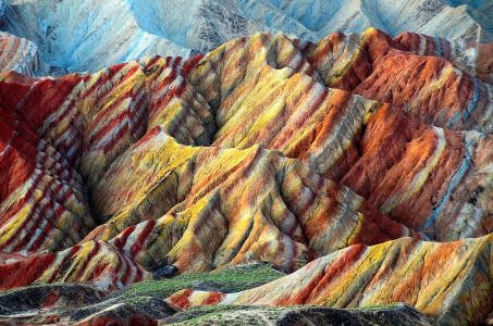 Rainbow Mountains Jigsaw Puzzle