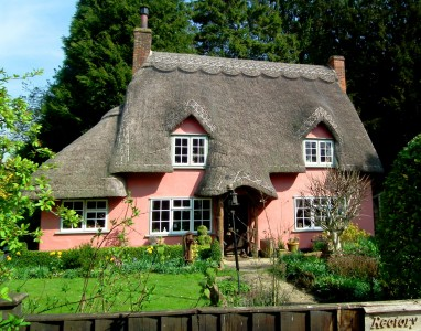 Rectory Cottage Jigsaw Puzzle