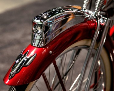Red Bicycle Jigsaw Puzzle