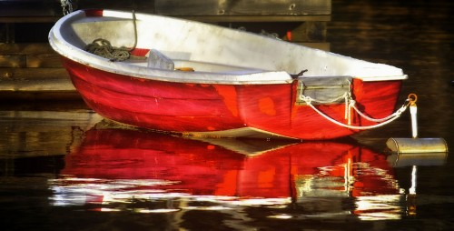 Red Boat Jigsaw Puzzle