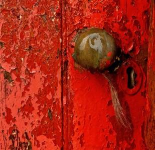 Red Door Jigsaw Puzzle