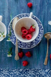 Red Raspberries Jigsaw Puzzle