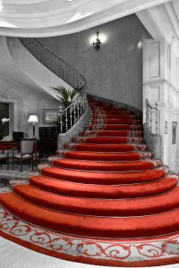 Red Stairs Jigsaw Puzzle