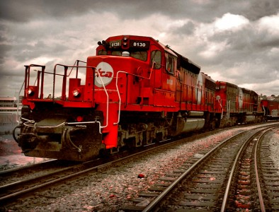 Red Train Jigsaw Puzzle