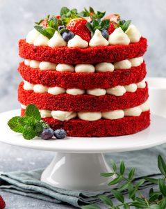 Red Velvet Cake Jigsaw Puzzle