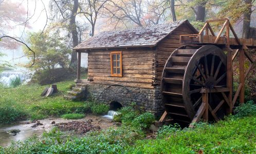 Reed Spring Mill Jigsaw Puzzle