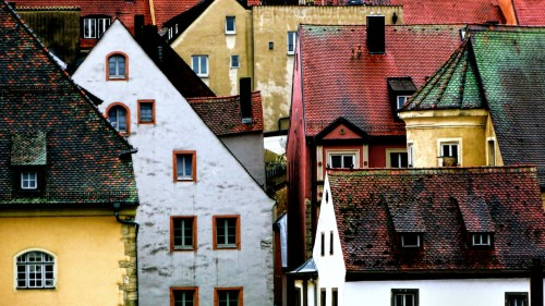 Regensburg Roofs Jigsaw Puzzle