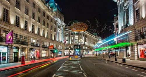 Regent Street Lights Jigsaw Puzzle