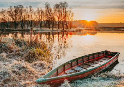 River Frost Jigsaw Puzzle