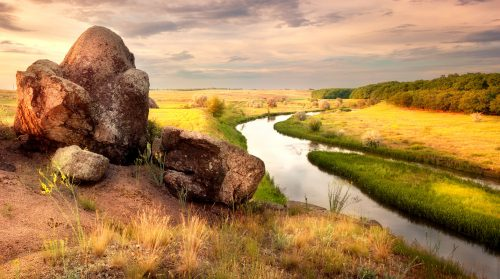 River Overlook Jigsaw Puzzle