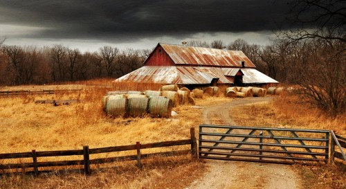 River Road Barn Jigsaw Puzzle