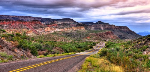 Road to Big Bend Jigsaw Puzzle
