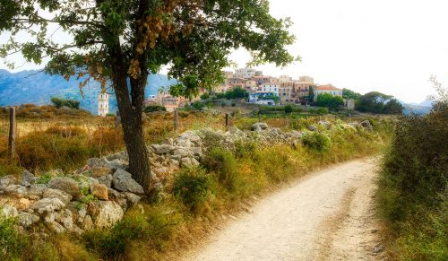 Road to Sant'Antonino Jigsaw Puzzle