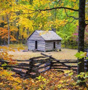 Roaring Fork Cabin Jigsaw Puzzle
